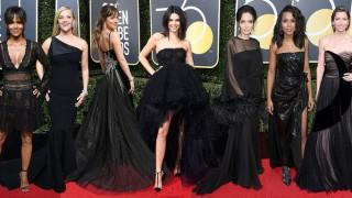 Τime's Up: Condé Nast & eBay δημοπρατούν τις μαύρες δημιουργίες των Χρυσών Σφαιρών