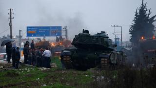 Με «βαρύ» βομβαρδισμό ξεκίνησε η τουρκική επιχείρηση στο Αφρίν της Συρίας