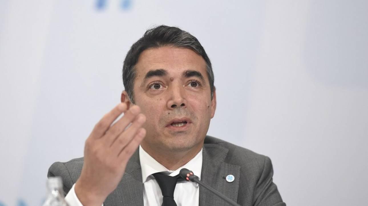 Ντιμιτρόφ: Οι δηλώσεις του πρέσβη μας δημιουργούν πρόβλημα στις σχέσεις Σκοπίων-Αθήνας