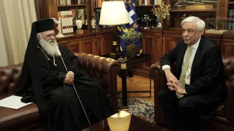 Συνάντηση Παυλόπουλου Ιερώνυμου: Ο ΠτΔ εξήρε τη στάση της Εκκλησίας στα εθνικά θέματα
