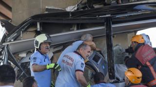 Τουρκία: Νεκροί και τραυματίες σε τροχαίο δυστύχημα λεωφορείου