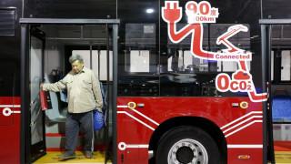 Στην τελική ευθεία το πρώτο ηλεκτροκίνητο λεωφορείο της Ιαπωνίας (pic)