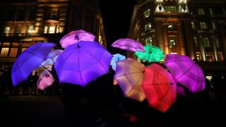Φεστιβάλ Lumiere: Φαντασμαγορία φωτός στους δρόμους του Λονδίνου