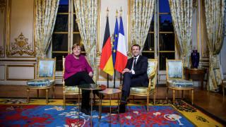 Κοινή διακήρυξη Μέρκελ-Μακρόν: Έκκληση να δοθεί νέα ώθηση στον γαλλογερμανικό άξονα