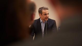 Ο Κυριάκος Μητσοτάκης στο CNN Greece