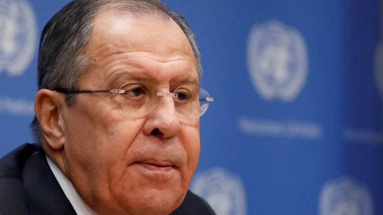 Λαβρόφ: Οι μονομερείς ενέργειες των ΗΠΑ εξόργισαν την Τουρκία
