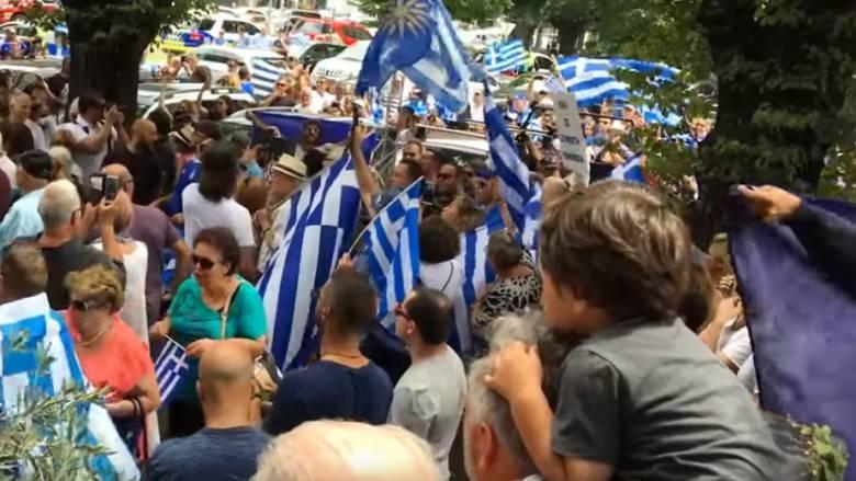 Επεισόδια ομογενών - Σκοπιανών στη Μελβούρνη στο συλλαλητήριο για τη «Μακεδονία» (vids)
