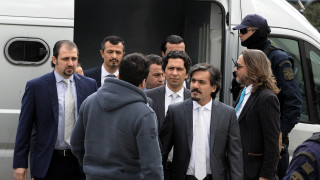 Στην Αθήνα αντιπροσωπεία του τουρκικού υπουργείου Δικαιοσύνης για τους «8»