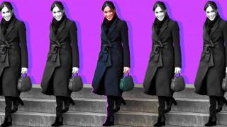 Μέγκαν Μαρκλ: πώς το all-black στιλ της εκτόξευσε τις πωλήσεις της βρετανικής μόδας