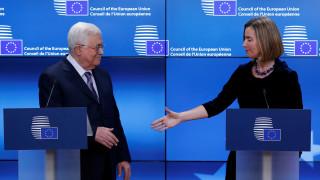 Ο Αμπάς κέρδισε την υποστήριξη της ΕΕ για την Ανατολική Ιερουσαλήμ