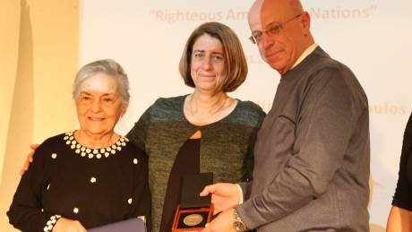 Βραβείο για τη σωτηρία Εβραϊκής οικογένειας από τους Ναζί