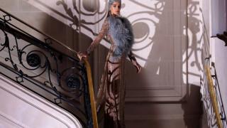 Εβδομάδα Μόδας: λαμπερή πολυτέλεια με υπογραφή Elie Saab