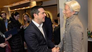 Δύσκολη η «εξίσωση ΔΝΤ» για την Αθήνα: Συνάντηση Τσίπρα -Λαγκάρντ στο Νταβός