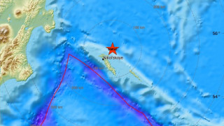 Ισχυρός σεισμός στη θαλάσσια περιοχή της ανατολικής Ρωσίας