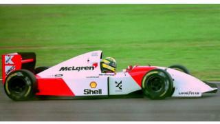 Αυτοκίνητο: Πωλείται η McLaren MP4/8A με την οποία ο Senna είχε κερδίσει το 1993 στο Μονακό
