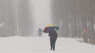 Πορτοκαλί συναγερμός στην Κίνα: Χιονοπτώσεις ύψους 10 έως 20 εκατοστά