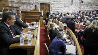 Κόντρα στη Βουλή για την επέτειο τριών χρόνων του ΣΥΡΙΖΑ στην εξουσία