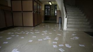 Βίντεο από την εισβολή του Ρουβίκωνα στον προαύλιο χώρο της σχολής Ευελπίδων