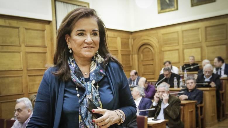 Μπακογιάννη για Σκοπιανό: Λάθος η Ελλάδα να παρασυρθεί σε σαλαμοποίηση για τη λύση