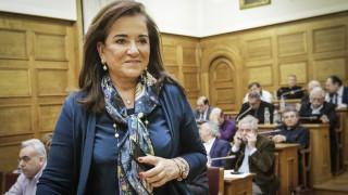 Μπακογιάννη: Ο κ. Τσίπρας διαπραγματεύεται ως αρχηγός κόμματος και όχι ως πρωθυπουργός