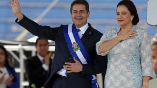 Ονδούρα: Ορκίστηκε πρόεδρος ο Χουάν Ορλάντο Ερνάντες εν μέσω διαδηλώσεων