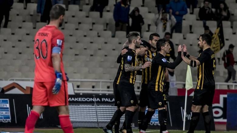 Super League: Νίκη για την ΑΕΚ, «κόλλησε» ο Παναθηναϊκός