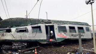 Βίντεο-ντοκουμέντο λίγο πριν τον εκτροχιασμό του τρένου στο Μιλάνο