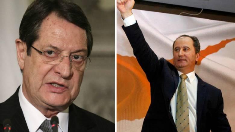 Προεδρικές εκλογές στην Κύπρο: Αναστασιάδης – Μαλάς στο β' γύρο