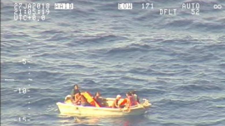 Κιριμπάτι: Εντόπισαν ναυαγούς στον Ειρηνικό ύστερα από οκτώ ημέρες
