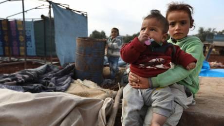 Ζωές υπό διωγμό μέσα στη Συρία