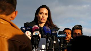 Αντζελίνα Τζολί: η σπαραξικάρδια έκκληση της για την αιματοβαμμένη Συρία