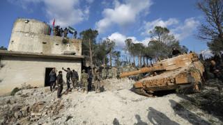 Η καταστροφή αρχαίου ναού της Αφρίν από τουρκικούς βομβαρδισμούς μέσα από εικόνες