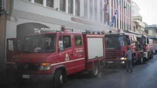 Υπό έλεγχο η φωτιά σε κτίριο της Ιεράς Μητρόπολης Νίκαιας
