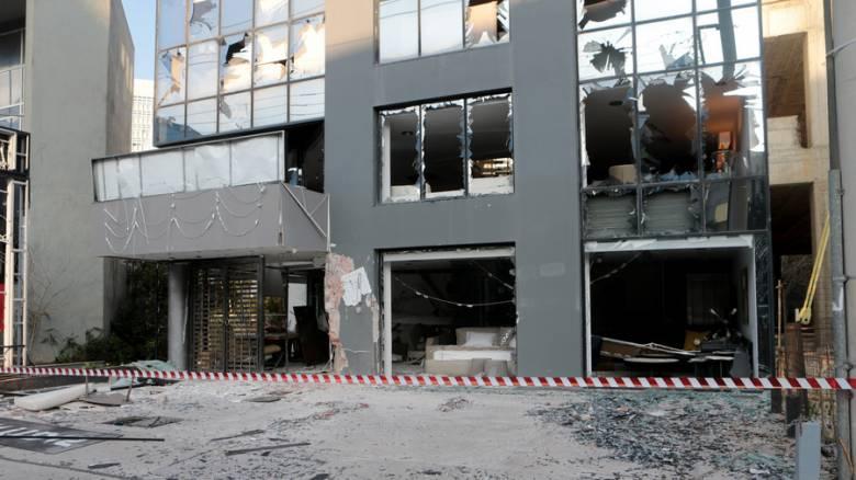 Η στιγμή της έκρηξης στο κατάστημα στη λεωφόρο Κηφισίας