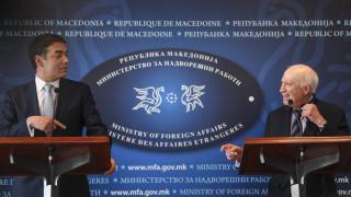 Νίμιτς: Είμαι αισιόδοξος – Ντιμιτρόφ: Οι Έλληνες δεν έχουν το απόλυτο δικαίωμα στον όρο Μακεδονία