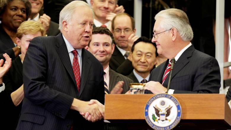 Παραιτείται ο υφυπουργός Εξωτερικών των ΗΠΑ