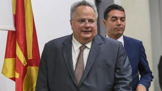 Αισιοδοξία αλλά και εμπόδια μετά τις συναντήσεις Νίμιτς σε Αθήνα και Σκόπια