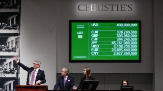 Το 2017 ήταν χρονιά ρεκόρ για τον οίκο Christie's