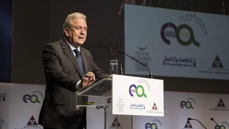 Αβραμόπουλος: Η Ευρώπη οφείλει να είναι καλύτερα προετοιμασμένη για το ενδεχόμενο νέας κρίσης