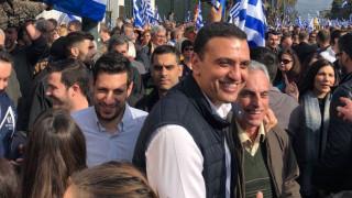 Συλλαλητήριο Αθήνα: Παρών και ο Βασίλης Κικίλιας