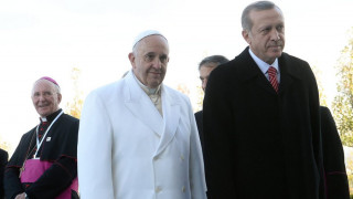 Συνάντηση Ερντογάν με τον πάπα Φραγκίσκο τη Δευτέρα