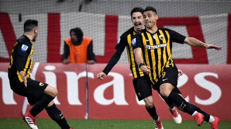Super League: Μεγάλη νίκη της ΑΕΚ επί του Ολυμπιακού