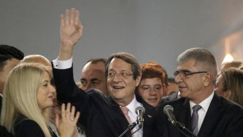 Κύπρος: Προτεραιότητα μου το Κυπριακό, τονίζει ο Ν.Αναστασιάδης μετά την επανεκλογή του