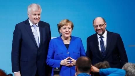 Γερμανία: Αύριο η υπογραφή της συμφωνίας για τον μεγάλο συνασπισμό