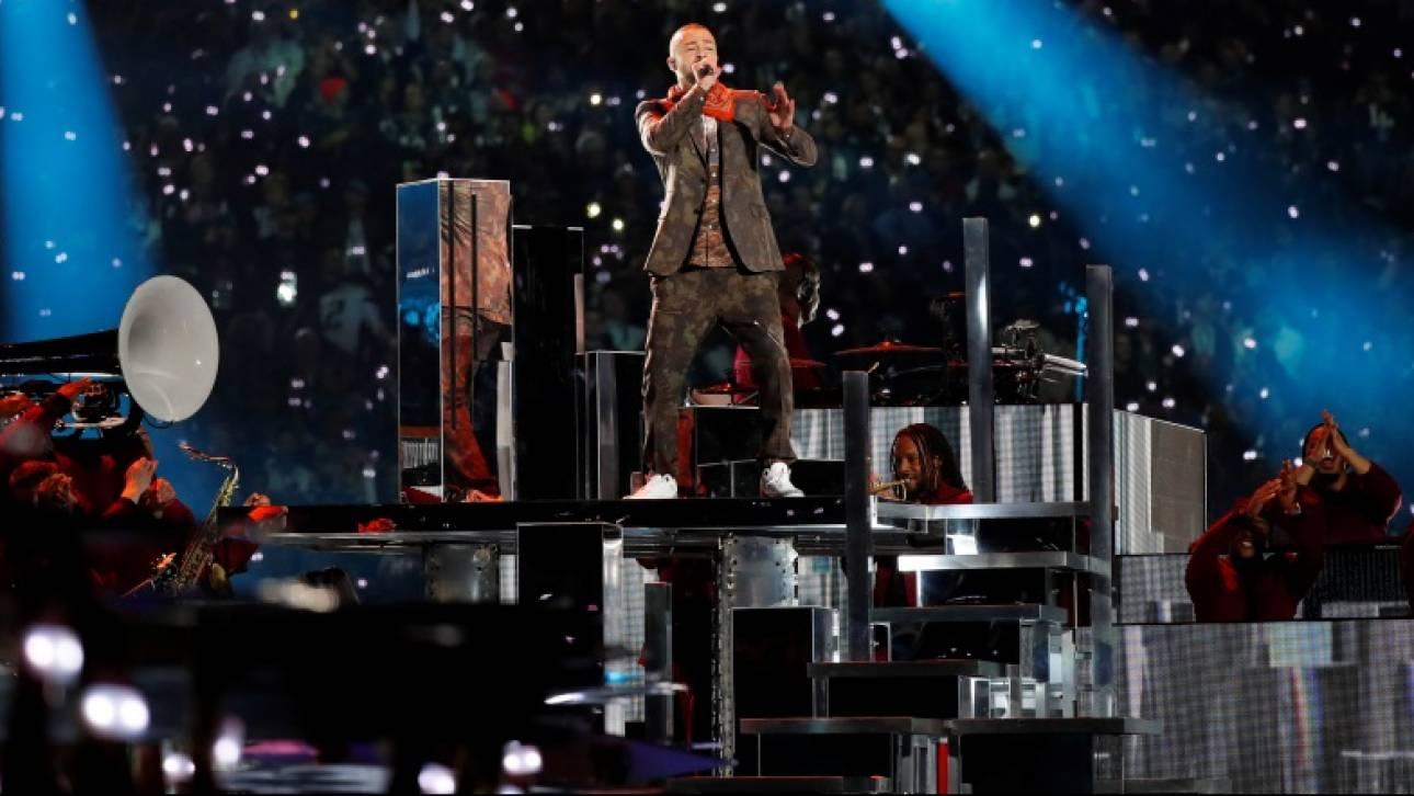 Super Bowl: Ήττα για τον Τζάστιν Τίμπερλεϊκ & οργή από τους fan του Prince