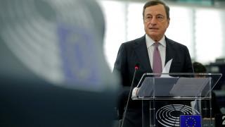 Προβληματισμός Ντράγκι για την ανατίμηση του ευρώ