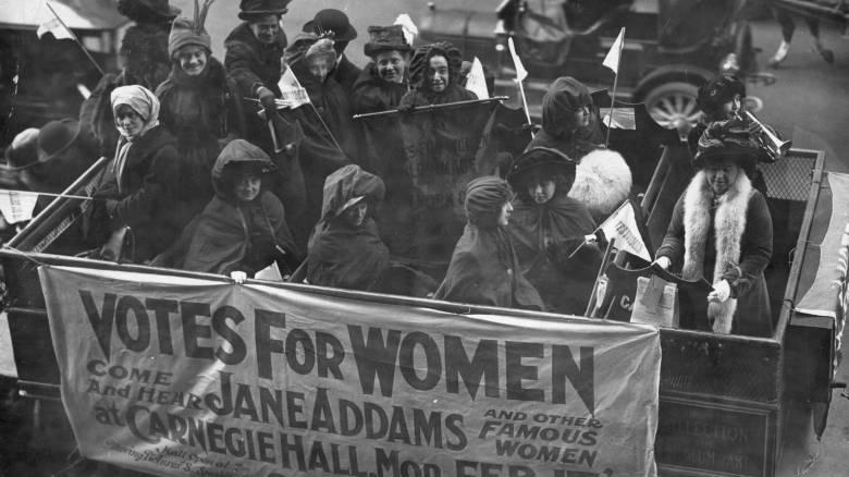 Η πάλη των γυναικών για το δικαίωμα ψήφου & η μάχη να κερδίσουν θέση στα κοινά