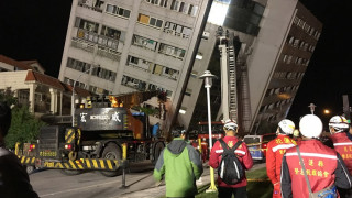 Σεισμός στην Ταϊβάν: Δύο νεκροί και δεκάδες τραυματίες