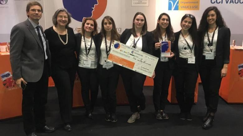 Χρυσή η Eλληνική Oμάδα του ΕΜΠ στο Eυρωπαϊκό «Champion's League» της Kαινοτομίας των Τροφίμων