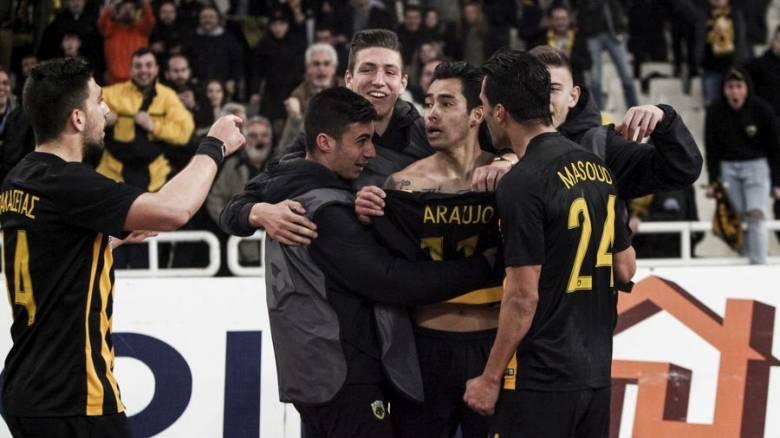 Κύπελλο Ελλάδας: «Πάρτι» πρόκρισης για ΑΕΚ στο ΟΑΚΑ (pics)